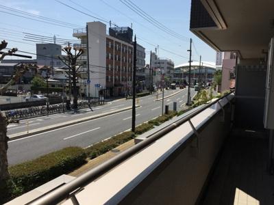 【バルコニー】シャーメゾン甲子園(春風小・上甲子園中学校区)