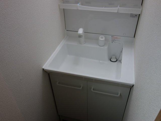 法善寺1丁目3DK一戸建て 独立洗面台 シャンプードレッサー