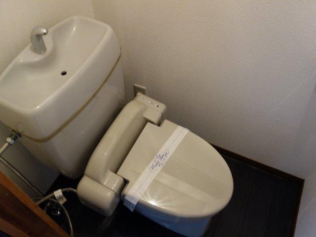 法善寺1丁目3DK一戸建て トイレ