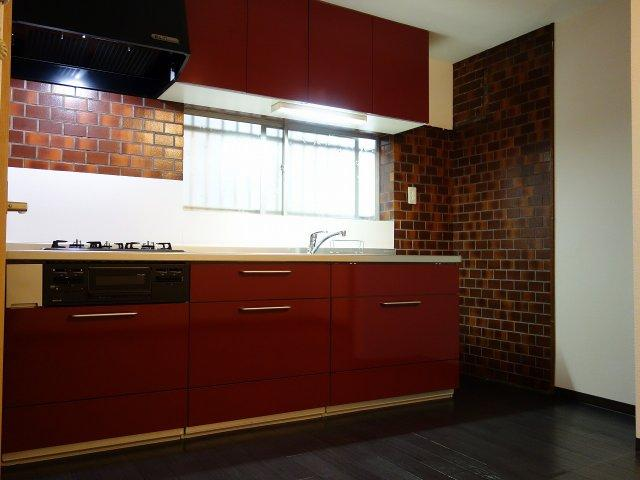 法善寺1丁目3DK一戸建て キッチン システムキッチン