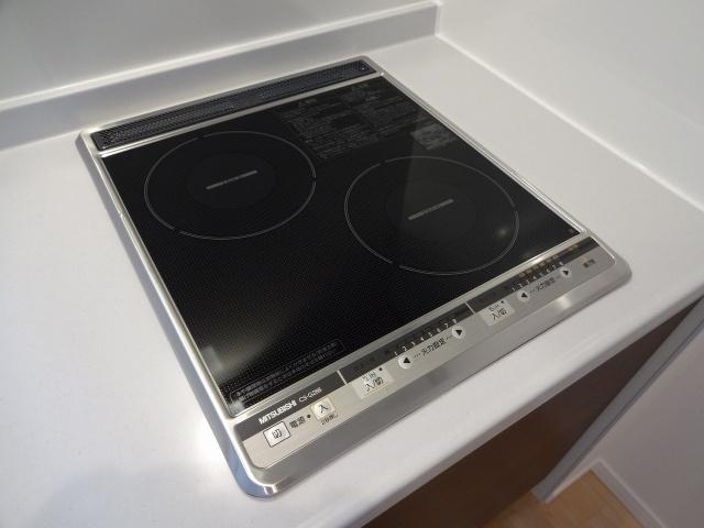 Gloria(グロリア) 2口IHクッキングヒーター システムキッチン