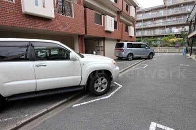 コーポファミーユ 平面駐車場