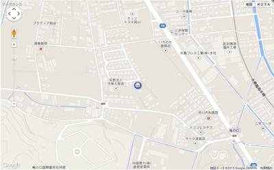 【地図】サンテ・フルール