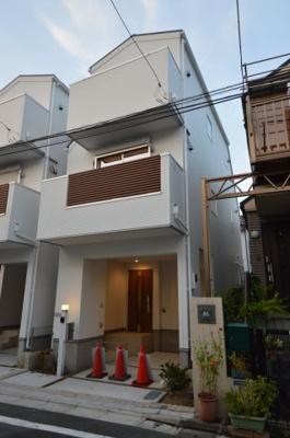 【外観】北欧ハウス 新築戸建 大田区中央1期