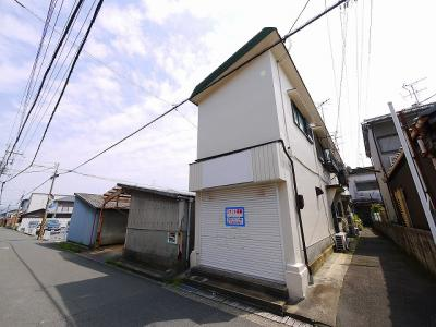 【外観】本町店舗付住宅
