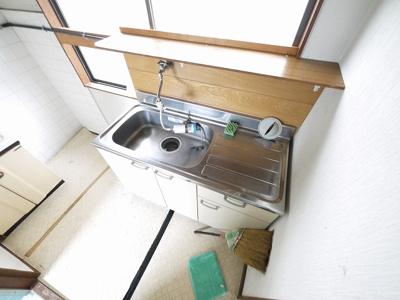 【キッチン】本町店舗付住宅