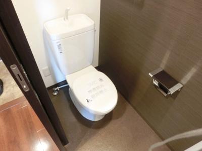 【トイレ】ラ・ウェゾン上沢通 鴎風館