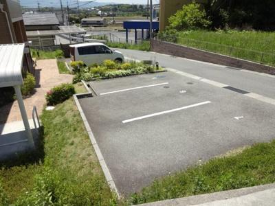 【駐車場】グランディールコーポ