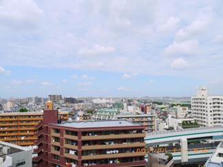 14階ですので、眺望も良好です。