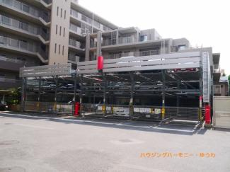 敷地内に、専用立体駐車場を完備。