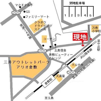 プチパール倉敷(倉敷市日ノ出町1丁目)地図