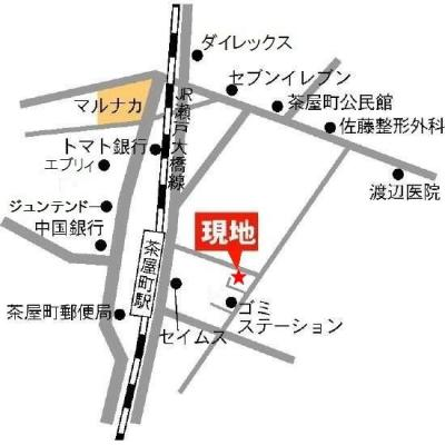 ゆず(倉敷市茶屋町)地図