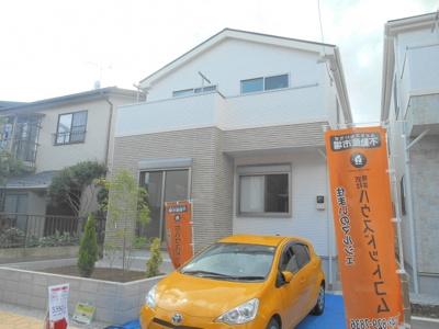 【外観】さいたま市北区本郷町 新築分譲住宅全2棟 1号棟