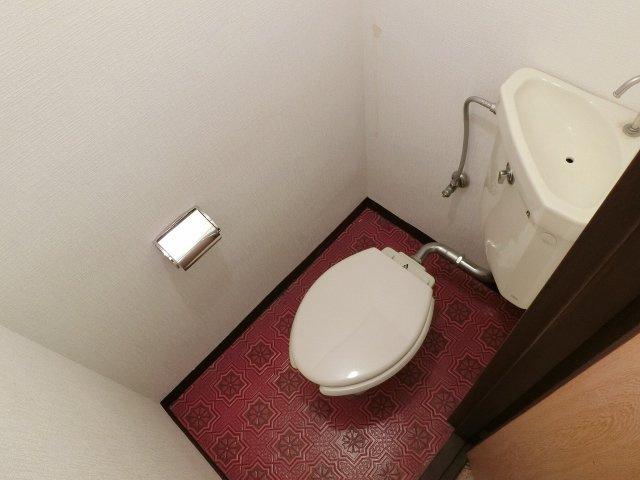 エコーハイツⅠ トイレ