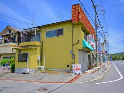 【外観】木津宮ノ裏店舗付住宅