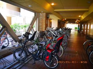 建物内に、便利な専用駐輪場があります。