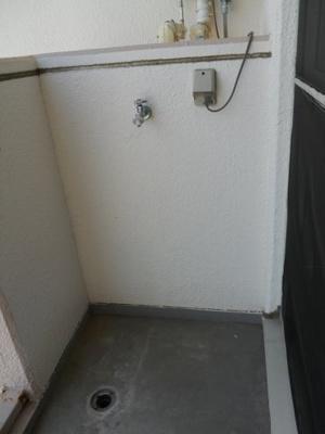 【洗濯機置場】