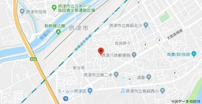 【地図】ローズハイツ