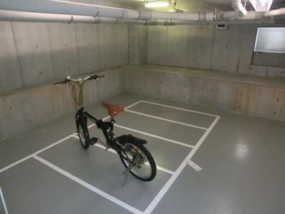 屋内駐輪場☆