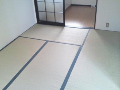【寝室】コーポ幸洋