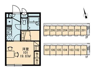 【区画図】リバーパーク