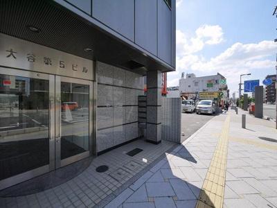 【エントランス】大谷第五ビル