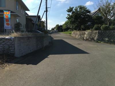 【前面道路含む現地写真】富士見ヶ丘1丁目21番