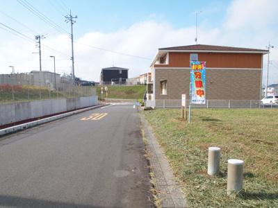 【前面道路含む現地写真】富士見ヶ丘2丁目17番