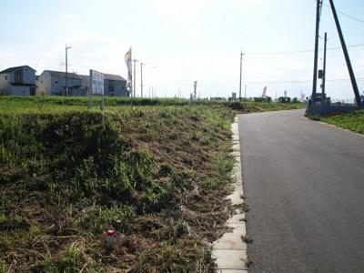 【前面道路含む現地写真】みどりの南C56街区