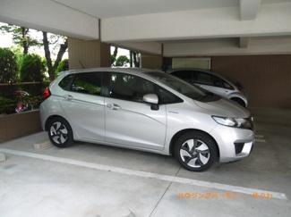 建物内に、便利な駐車場を完備。