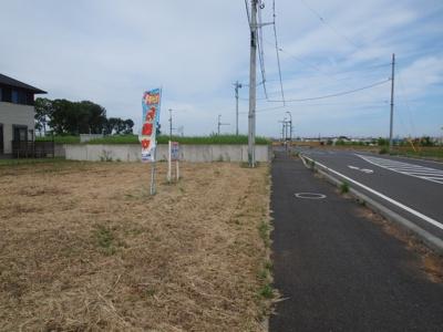 【前面道路含む現地写真】富士見ヶ丘4丁目1番