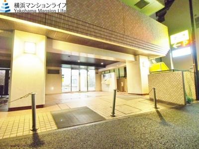 【エントランス】パーク・ノヴァ横浜・弐番館