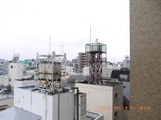 6階ですので、眺望も良好です。