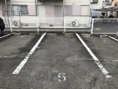 【駐車場】松村ハイツD棟