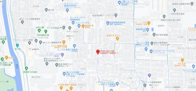 【地図】松村ハイツD棟