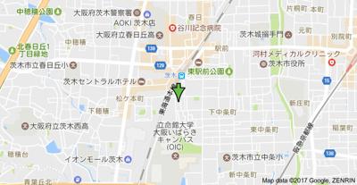 【地図】山中ビル