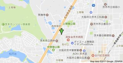 【地図】シティハイムソファレ山本