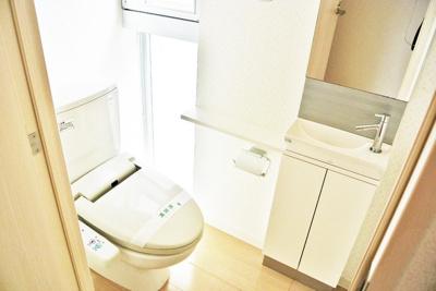 【トイレ】BLANC北堀江