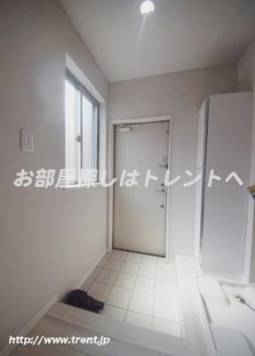 【玄関】カルム神楽坂Ⅱ