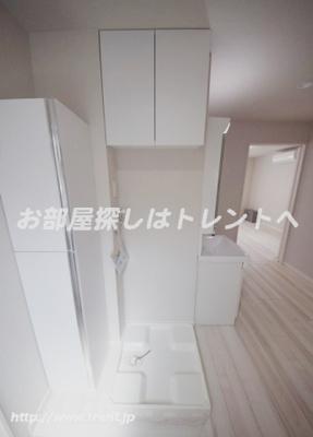 【洗面所】カルム神楽坂Ⅱ