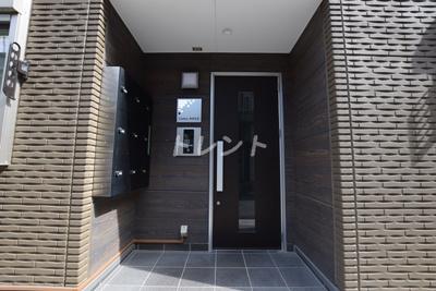 【エントランス】カルム神楽坂Ⅱ