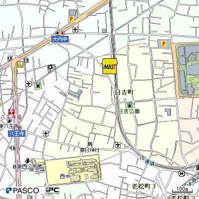 【地図】ミレリサイアB