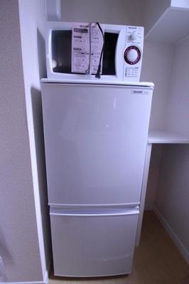 電子レンジ&冷蔵庫☆