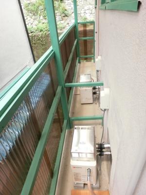 【バルコニー】J・Mハウス 2号棟