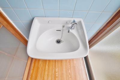 洗面台もキレイですね♪