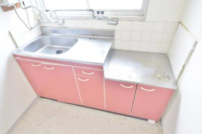 【キッチン】平野一丁目借家