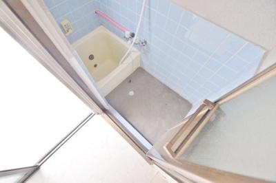 【浴室】平野一丁目借家