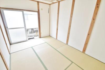 【寝室】平野一丁目借家