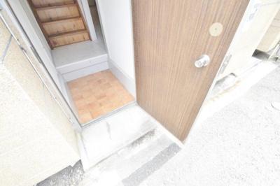 【玄関】平野一丁目借家