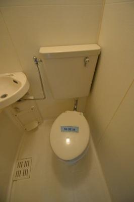 【トイレ】コーポしんとみA